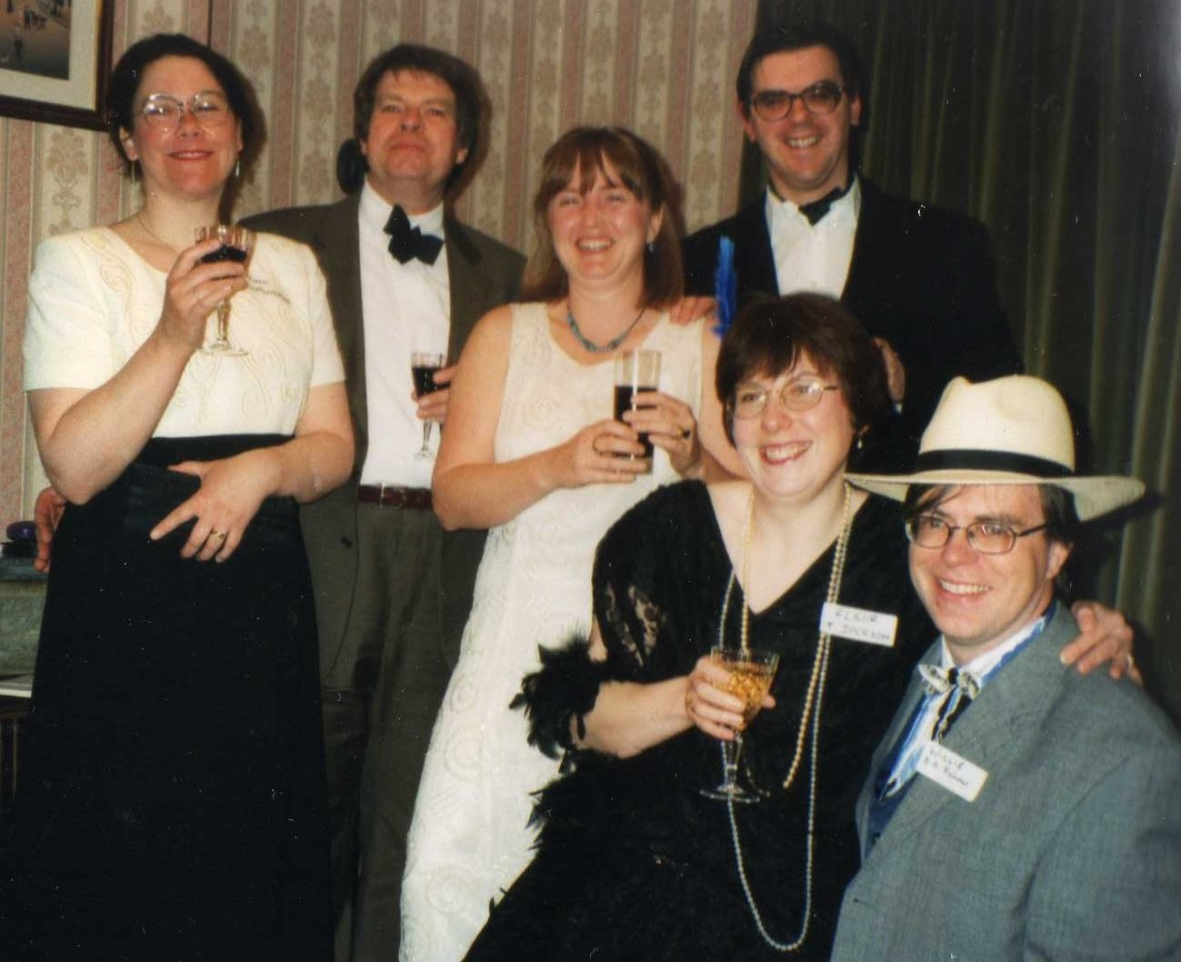 small murder mystery party