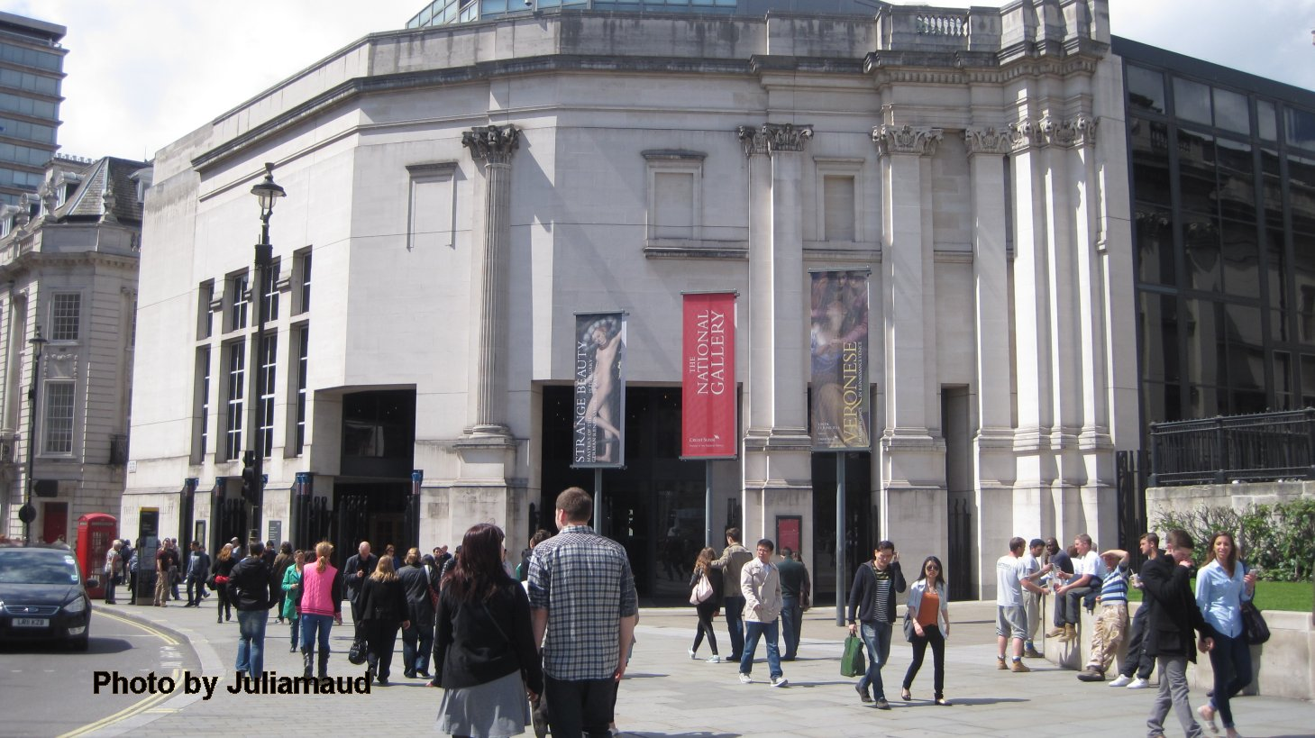 sainsbury wing of National Gallery