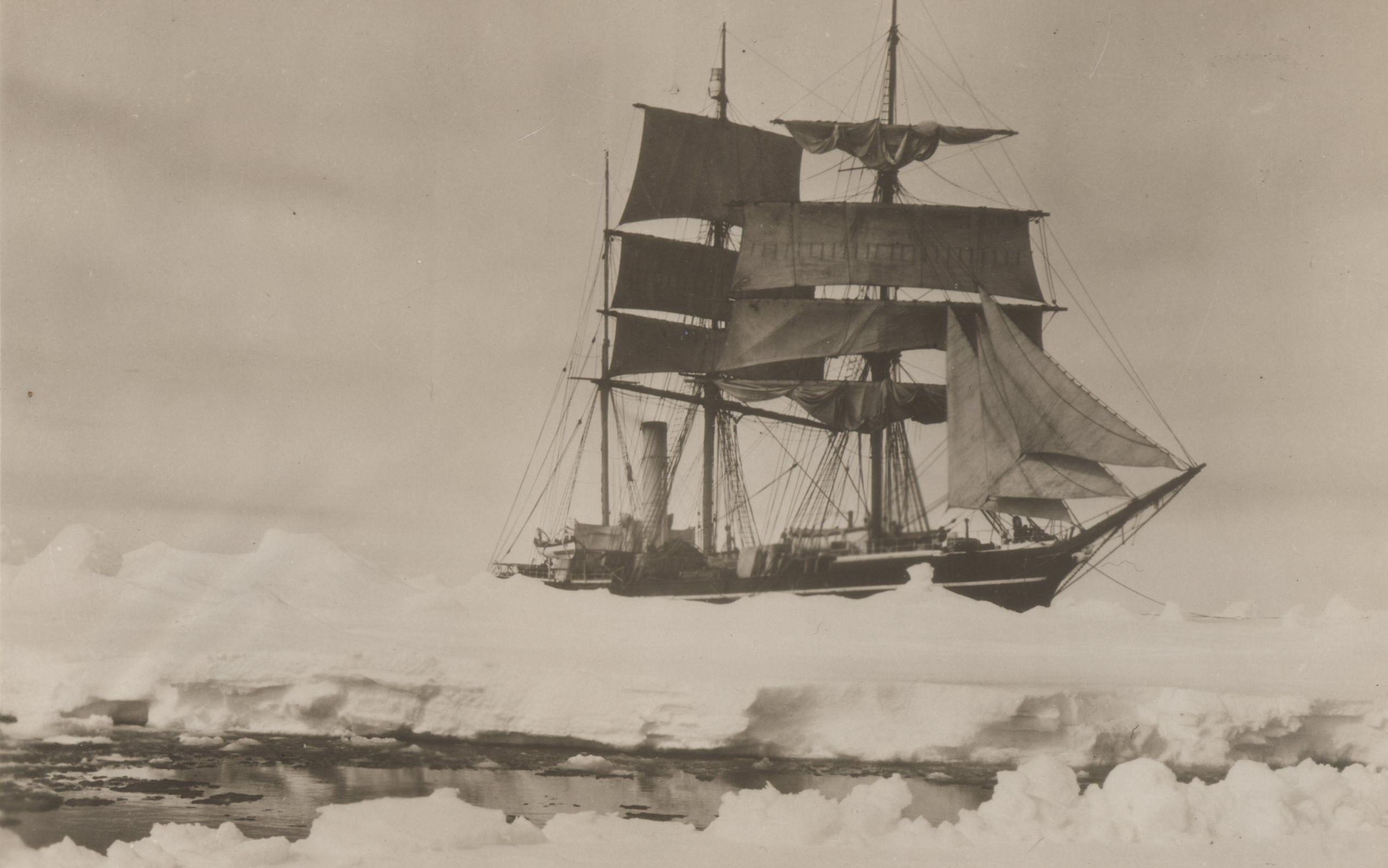Robert Falcon Scott's Terra Nova.