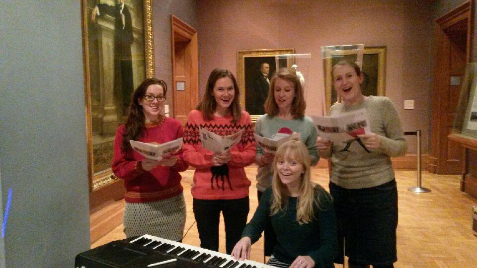 Treasure hunts in London Singing Challenge