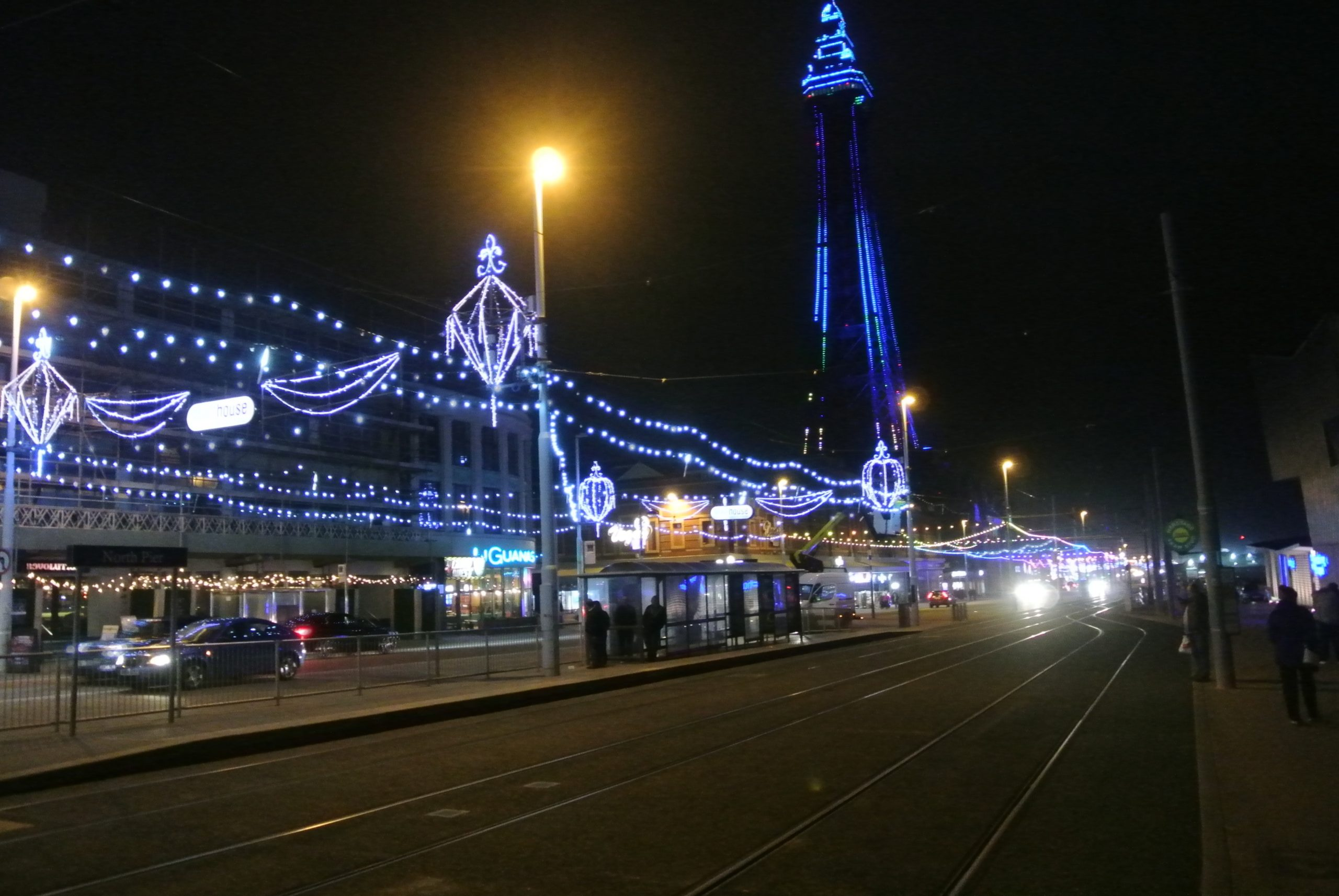 Blackpool and the Tower - photo by Juliamaud