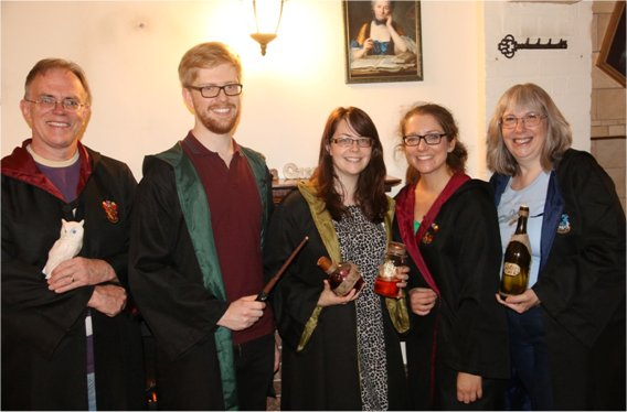 Team Invitation To Events at the school of witchcraft and wizardry