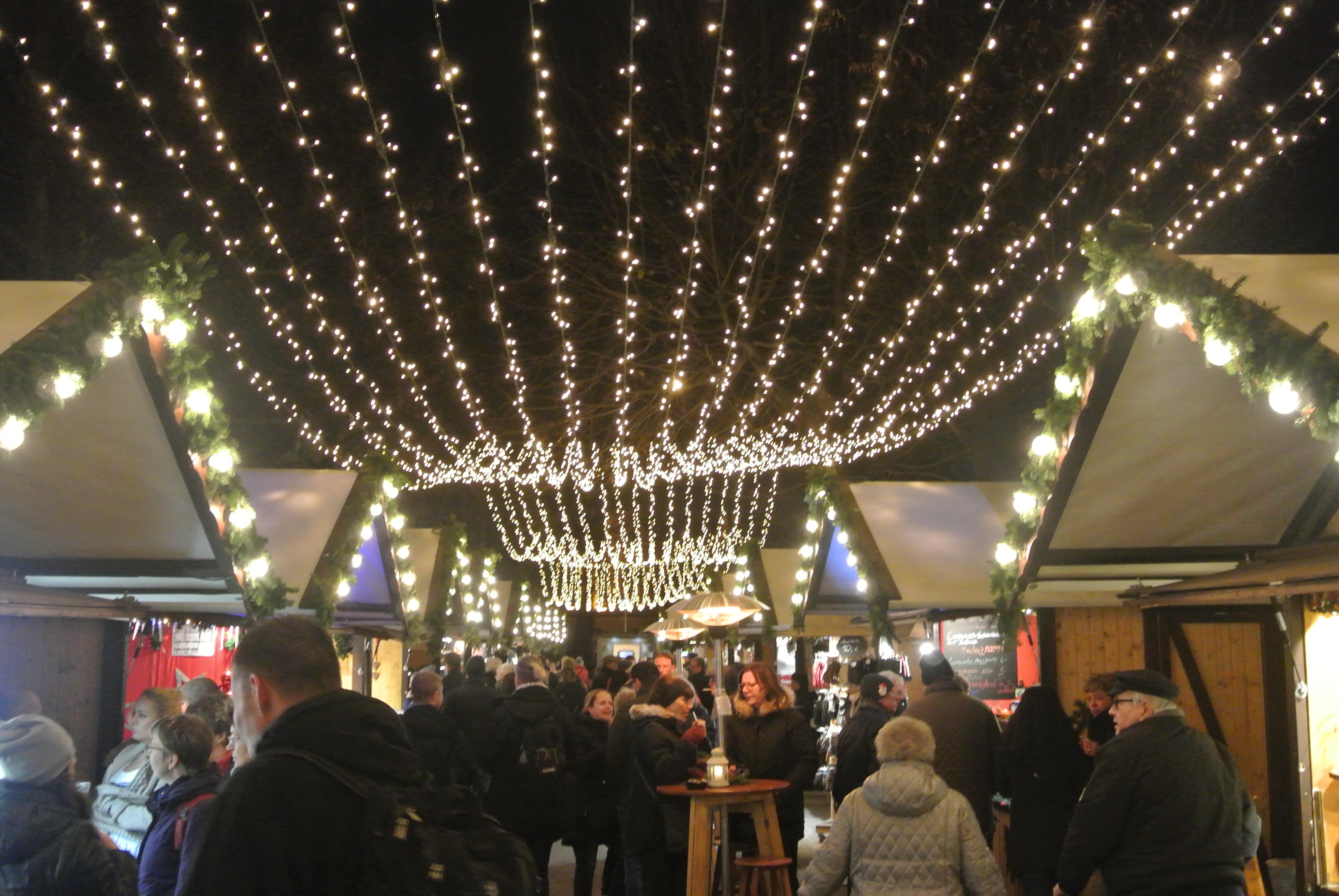 A German Christmas Market - photo by Juliamaud