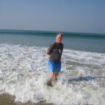Paddling in theArabian Sea