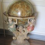 Stonor House globe- photo by juliamaud