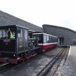 Snowdon Mountain Railway Station- photo by Juliamau