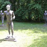 Elisabeth Frink'sRiace Figures - photo by Juliamaud