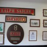 History of railway at Llanberis station - photo by juliamaud