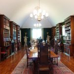 Stonor House library - photo by juliamaud