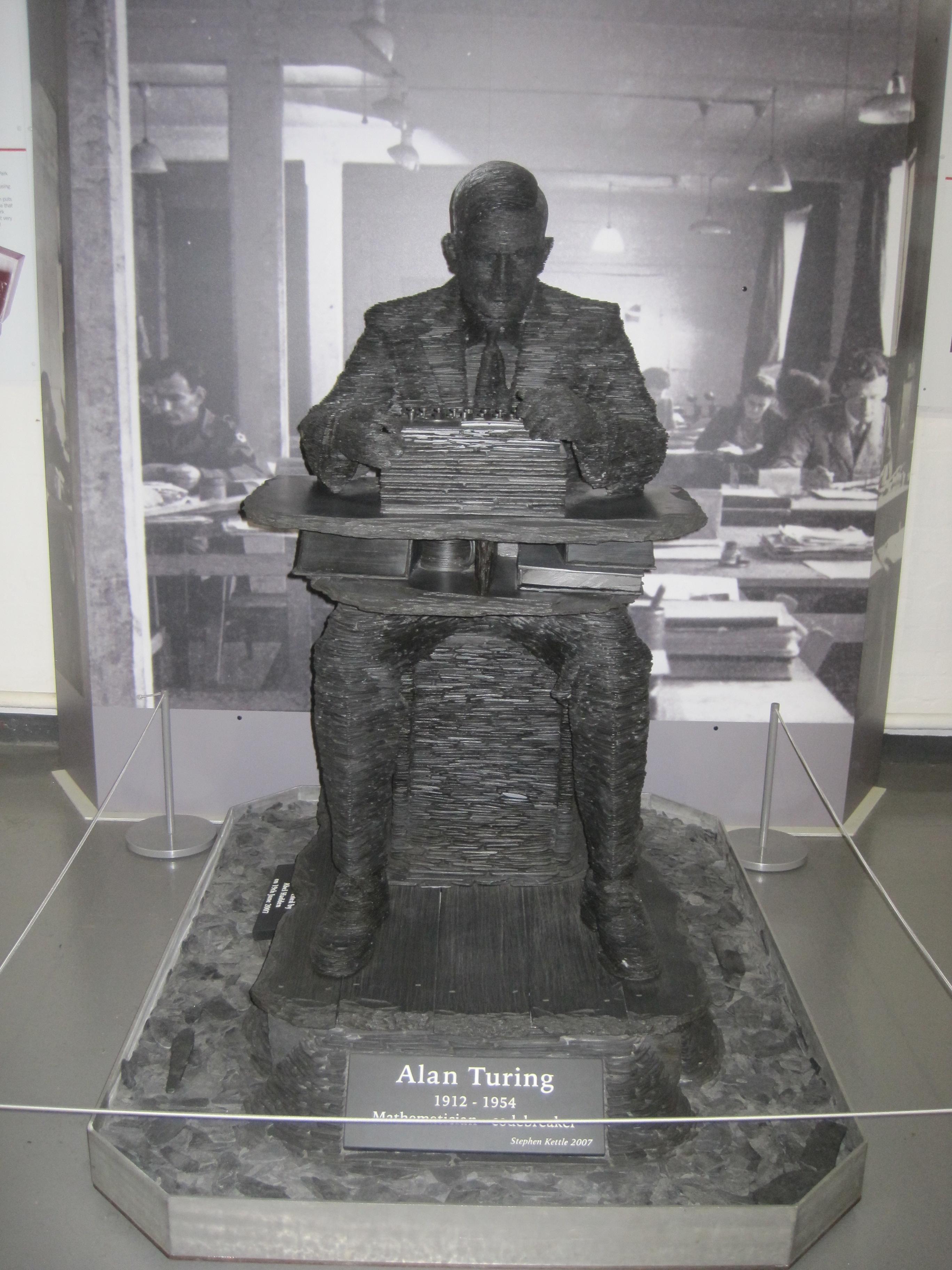 Statue of Alan Turing - Photo by Juliamaud