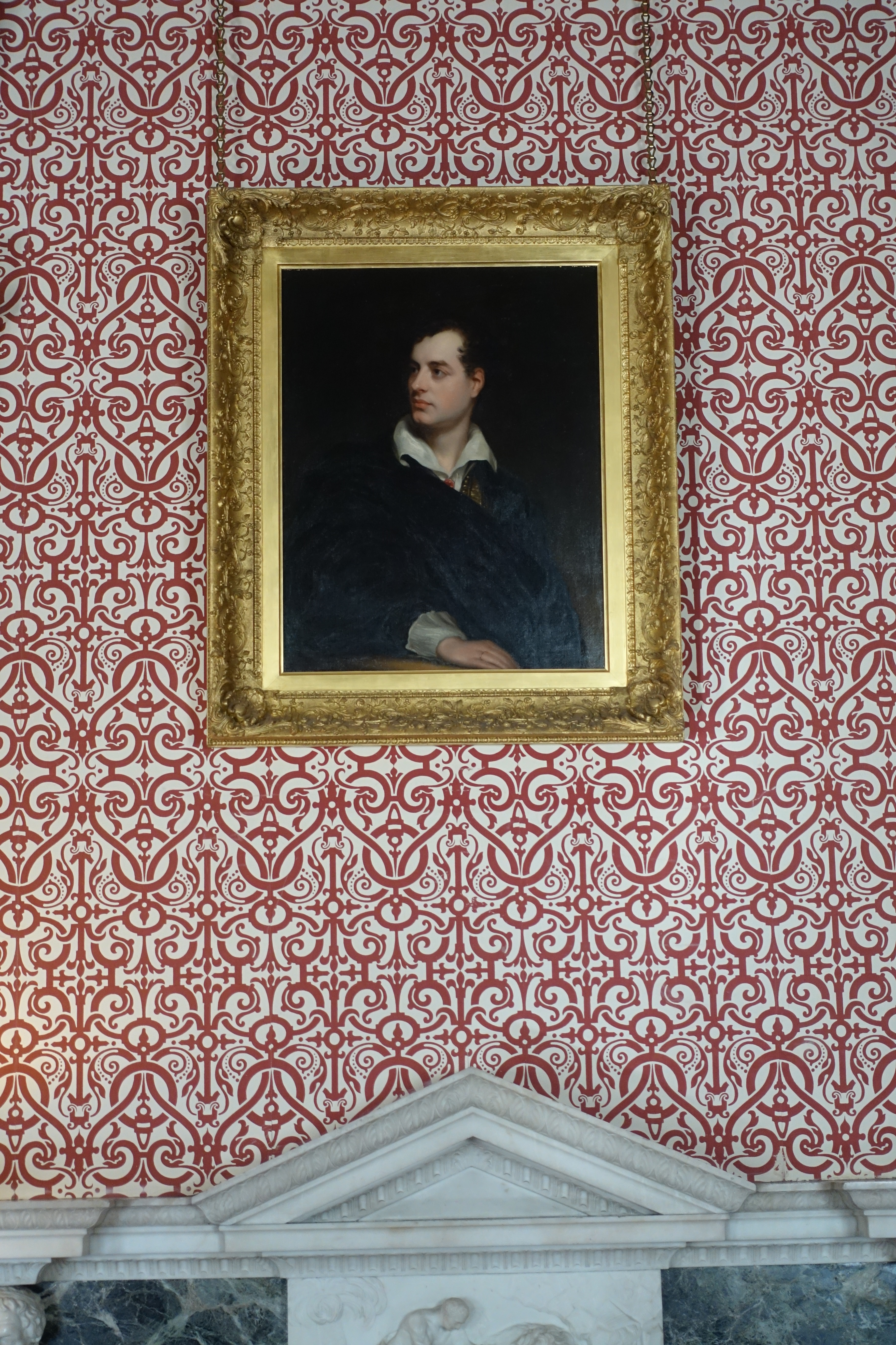 Lord Byron at Newstead Abbey - photo by Juliamaud