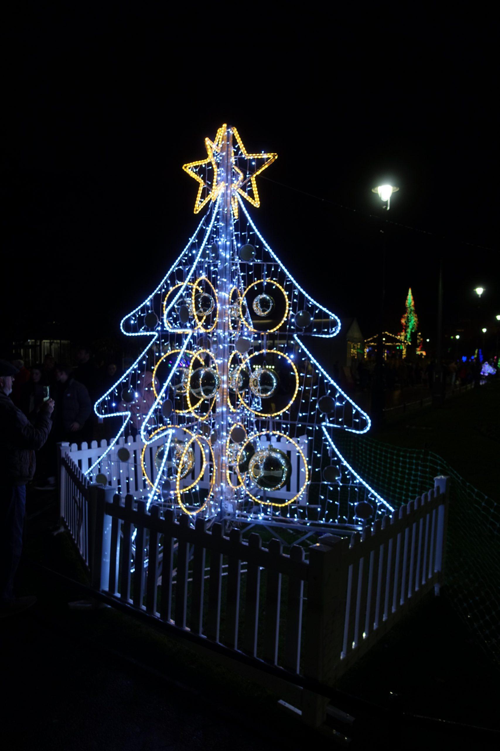 Christmas Tree Wonderland - photo by Juliamaud