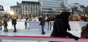 Nottingham Winter Wonderland Ice Rink- photo by Juliamaud