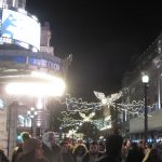 Piccadilly circus lights - photo by Juliamaud
