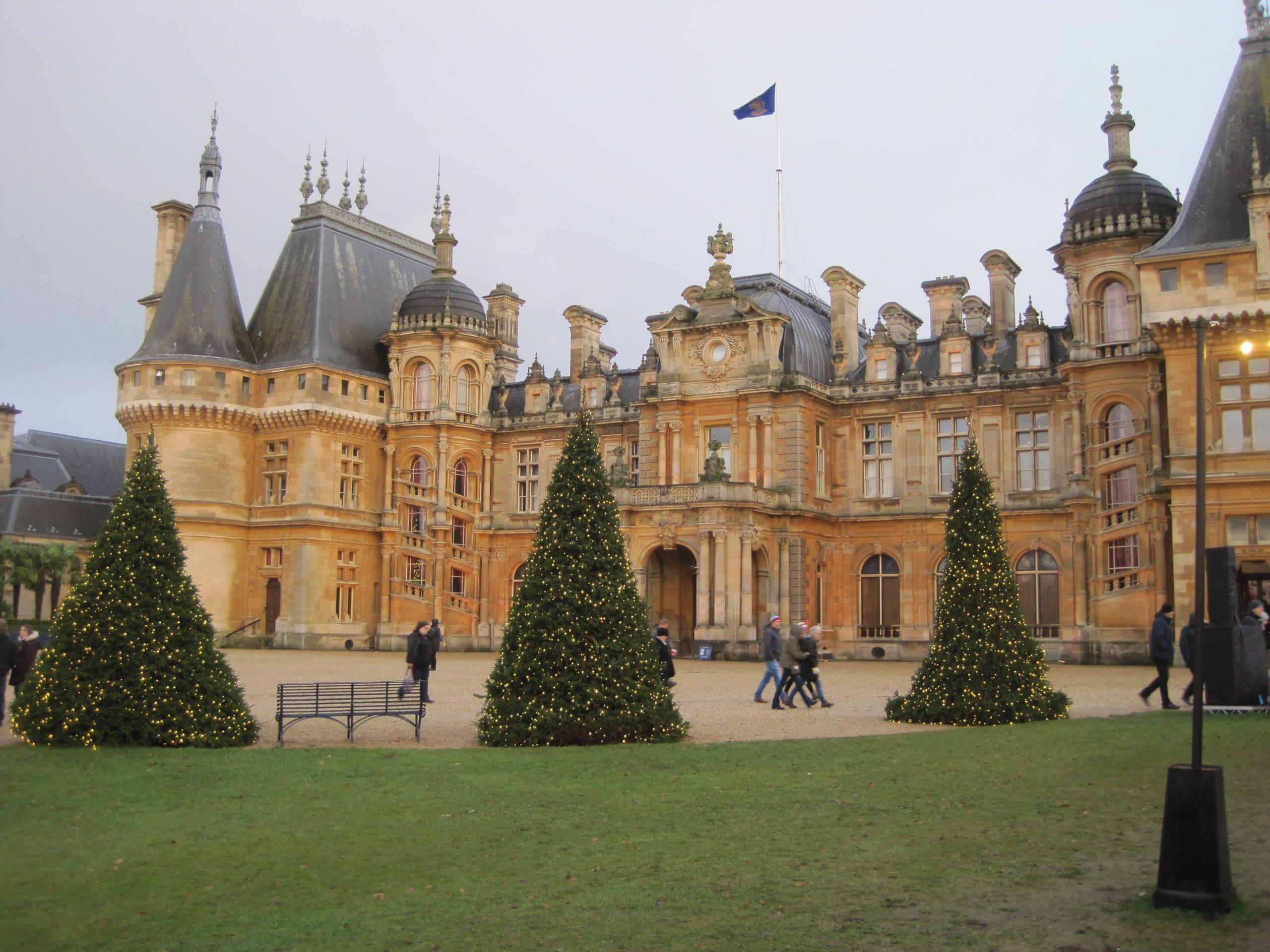 Waddesdon Manor at Christmas - photo by Juliamaud