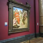The Entombment (or Christ being carried to his Tomb) by Michelangelo - photo by Juliamaud