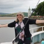 on boat on Coastal Path at Portmeirion - photo by Juliamaud