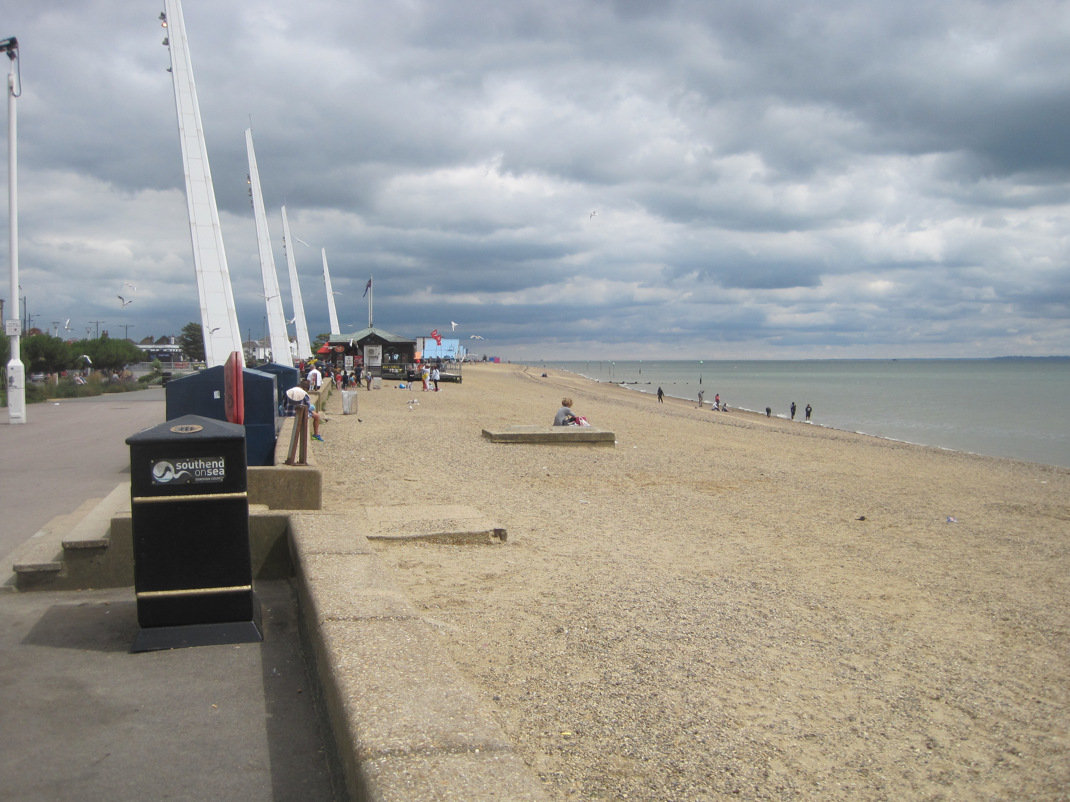 Southend Beach - photo by Juliamaud