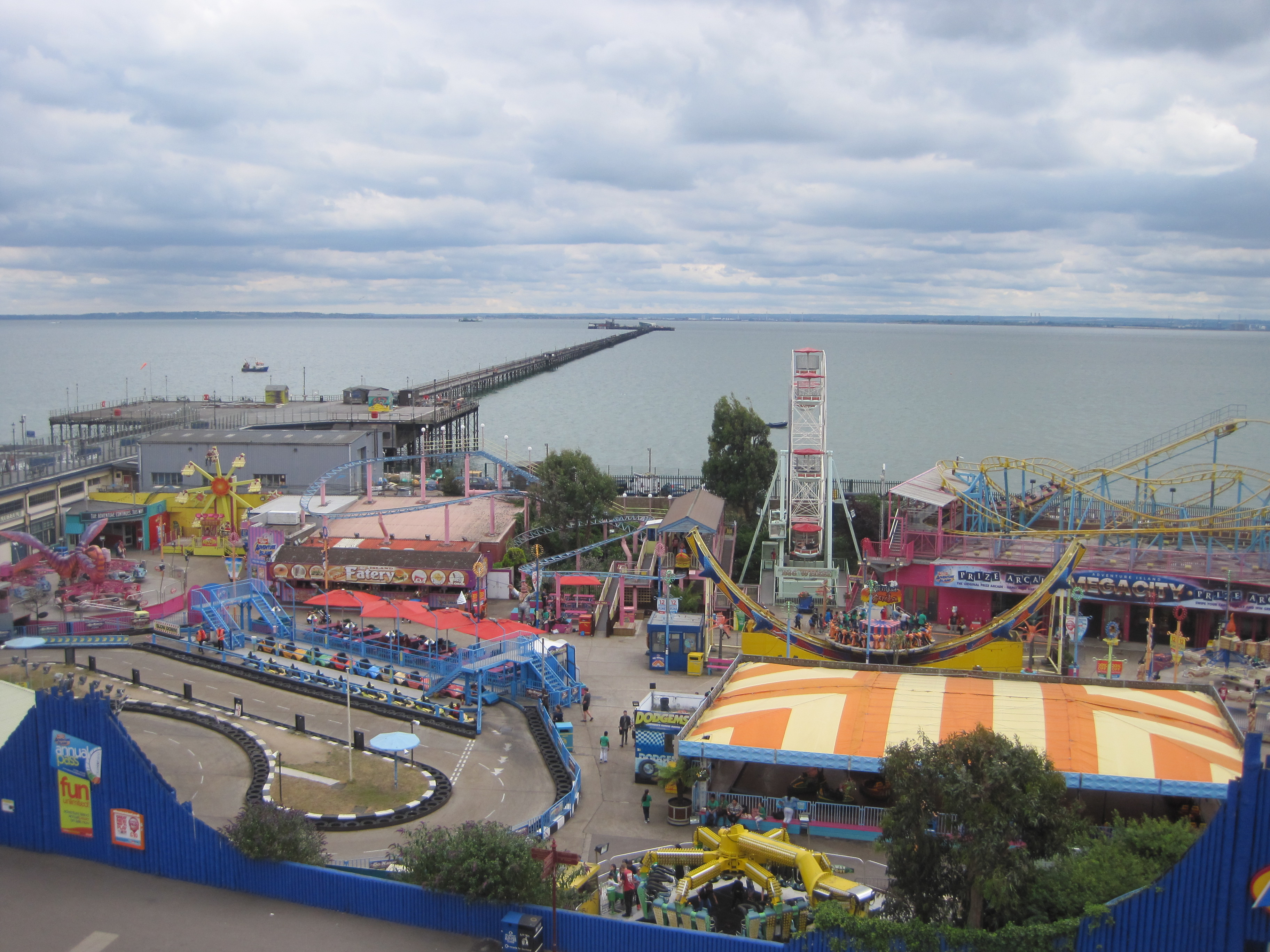 Southend Adventure Island - photo by Juliamaud